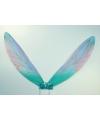 Blauwe elfen vleugels voor kinderen