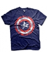 Captain America t-shirt heren