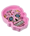 Day of the dead asbak roze 10 cm