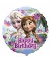 Folie ballon Elsa en Anna 45 cm