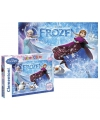 Frozen puzzel Glitter 104 stukjes