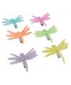 Gekleurde libelle haarclip
