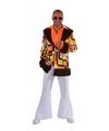 Hippie colbert retro oranje