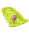 Kinder plastic slee Bob-model geel