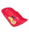 Kinder plastic slee Bob-model rood