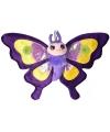 Pluche knuffel paarse vlinder 38 cm