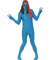 Second skin pak blauw