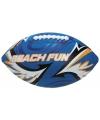 Strand rugbybal blauw 27 cm