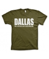 T-shirt Dallas logo