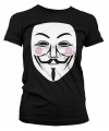 V for Vendetta t-shirt dames