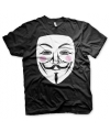 V for Vendetta t-shirt heren