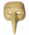 Venetiaans snavelmasker van papier mache