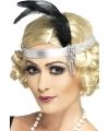 Zilveren jaren 20 hoofdband